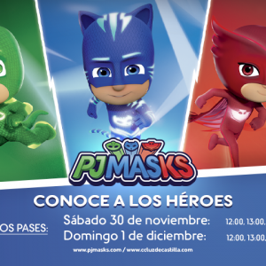 ¿Quieres descubrir los superpoderes de Buhita, Gecko o Catboy?